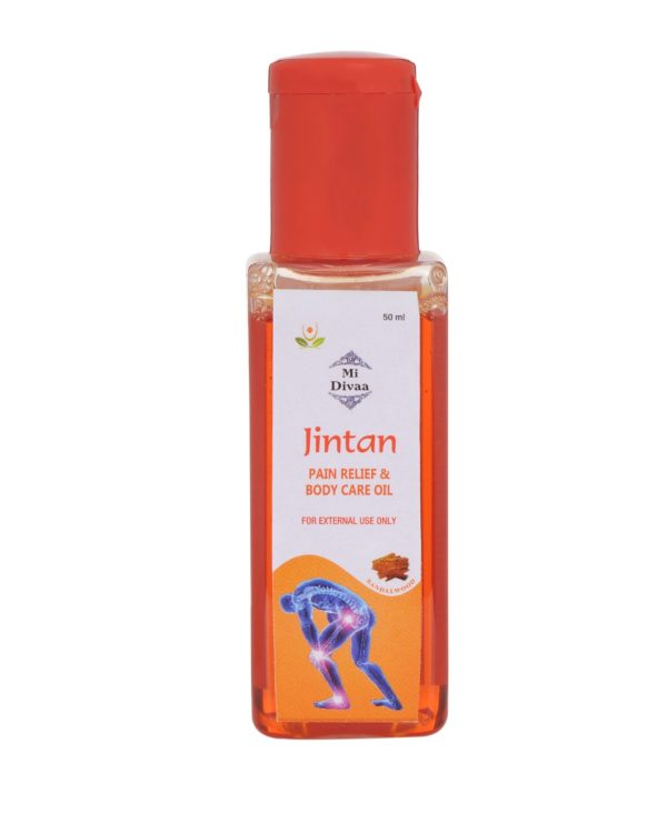 Jintan pain relief and body care oil with Sandalwood